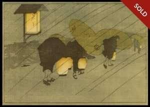 Bertha Lum - Rainy Twilight (1907)