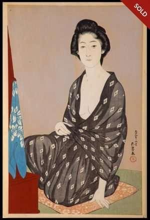 Hashiguchi Goyo - Nakatomi (1920)