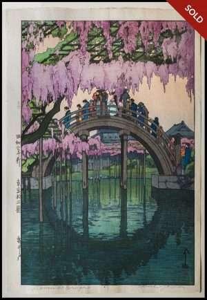 Hiroshi Yoshida - Kameido Bridge (1927)