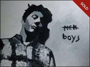 James Franco - Men Boys From Palo Alto Paintings