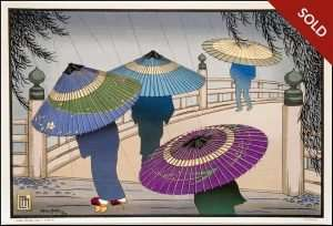 Lillian Miller - Rain Blossoms Japan A (1928)
