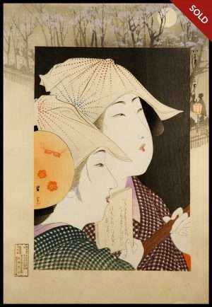 Yamamoto Shoun - Fashions Of Today (1908)