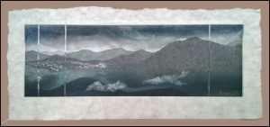 Sarah Brayer - Mt. Atago Mist (2015)