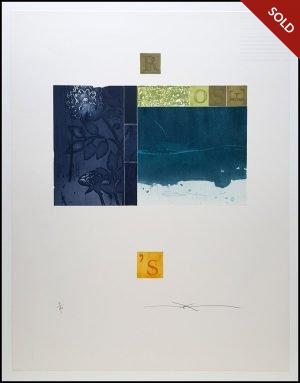 Shinko Araki - Rose Blue I