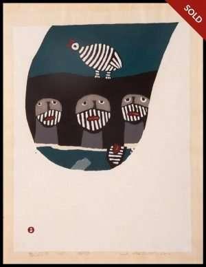 Umetaro Azechi - Birds-Calling (Tori no Yobukoe - 1968)