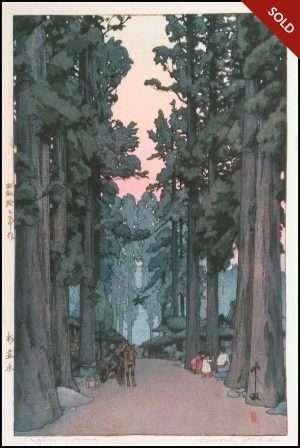 Hiroshi Yoshida - Criptomeria Avenue