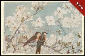 Kazuma Oda - Flowers and Birds: 4 of 5 (1950)