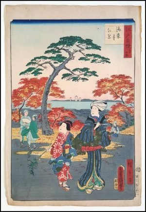 Kunisada - 30 Views of Edo (1864)