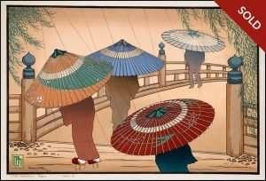Lillian Miller - Rain Blossoms Japan B (1928)