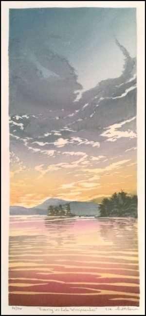 Matt Brown - Evening on Lake Winnipesaukee (2014)