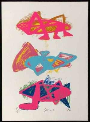 Seizo Tashima - Three Grasshoppers (1996)