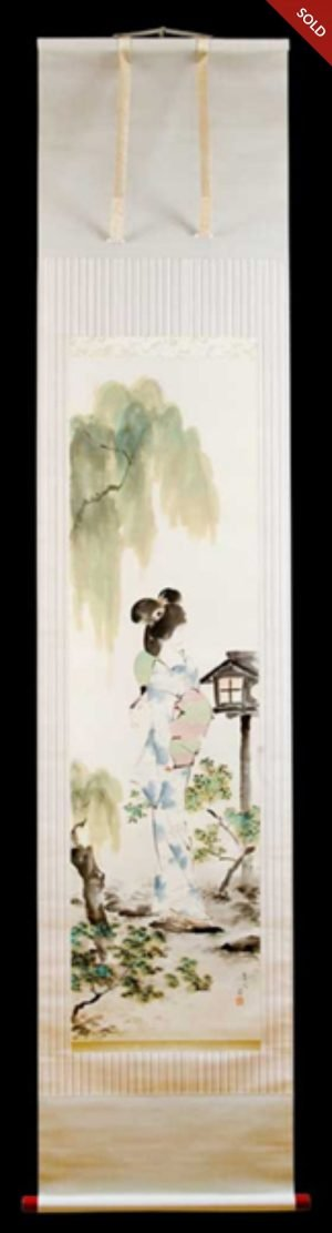 Torii Kotondo - Cool Summer Evening (1920-30)