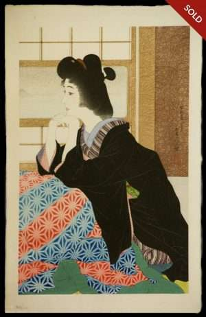 Torii Kotondo - Yuki: Snow (1929)