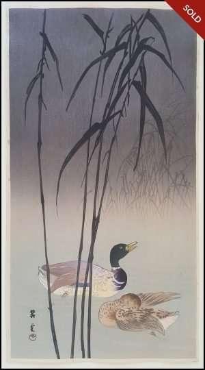 Yamamoto Shoun - Ducks (1920-30s)