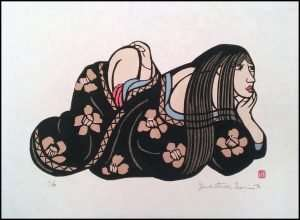 Yoshitoshi Mori - Contemplation (1990)