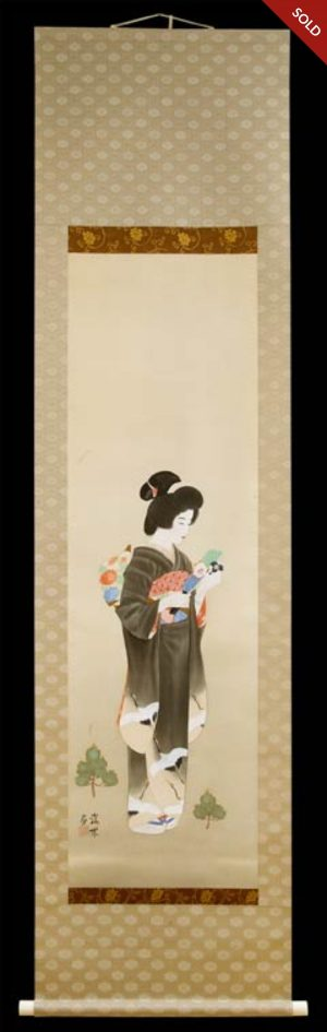 Ito Shinsui - Bijin Beauty, Symbols of the New Year