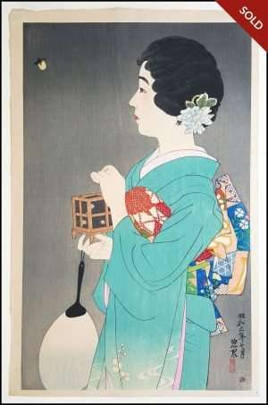 Ito Shinsui - Catching Fireflies (1931)