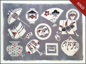 Keisuke Serizawa - Mingei, Folk-Art (1950s)