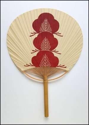 Keisuke Serizawa - Pine, Red (1955-80)