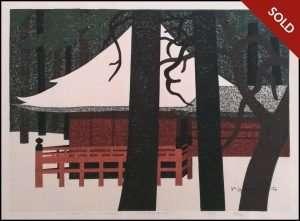 Kiyoshi Saito - Winter in Nikko (1969)