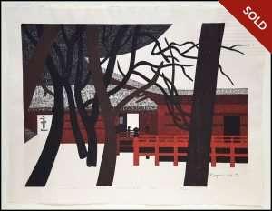 Kiyoshi Saito - Winter in Nikko, Jyogyodo (1969)