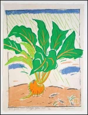 Mayumi Oda - Golden Beet, Green Gulch Seed Catalogue Series (1980)