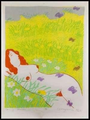 Mayumi Oda - Spring Meadow (1975)