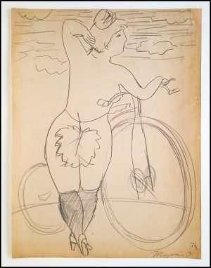 Mayumi Oda - Victorian Invention: Bicycle (1977)