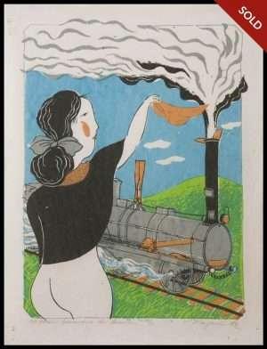 Mayumi Oda - Victorian Invention, Locomotive (1976)