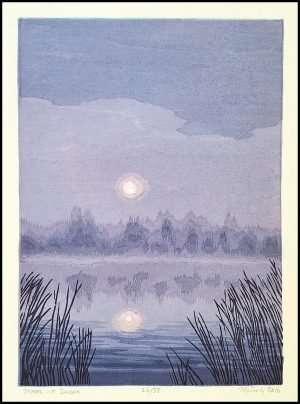 Micah Schwaberow - Moon at Dawn (2016)