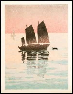 Micah Schwaberow - Sailing Boat, Evening (2010)