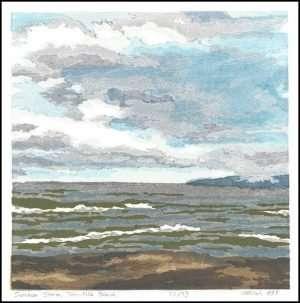 Micah Schwaberow - Summer Storm, Ten Mile Beach (1998)
