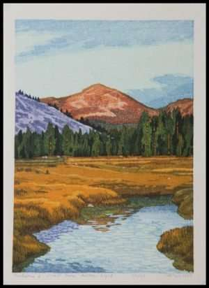 Micah Schwaberow - Tuolumne to Mount Dana, Autumn Light (1997)