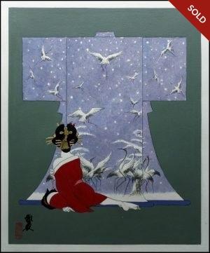Hideo Takeda - Kimono: Snow Cranes (2017)