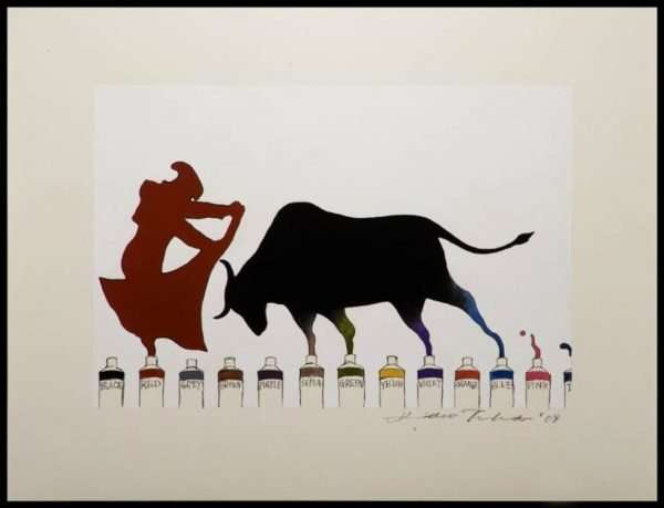 Hideo Takeda - Year of the Ox, Color Print Series (2009)