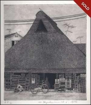 Ryohei Tanaka - Thatched Roof #10 (1970)