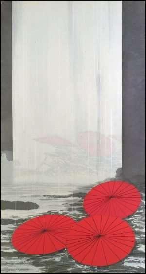 Shigeki Kuroda - Floating Parasols (2015)
