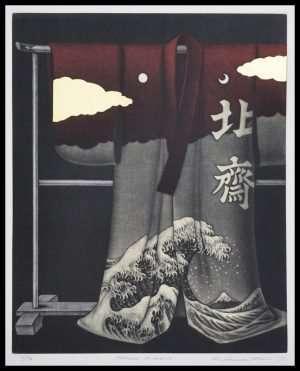 Katsunori Hamanishi - Hokusai Kimono (2017)