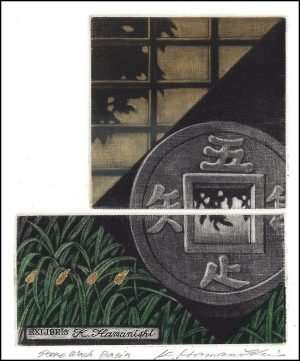 Katsunori Hamanishi - Stone Wash Basin, Exlibris