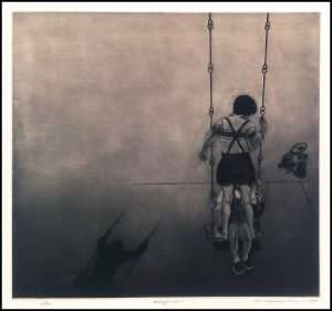 Katsunori Hamanishi - Swing No. 1, Rare early print (1975)