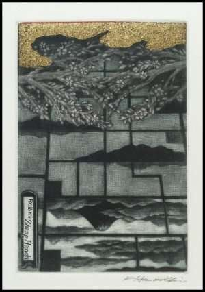 Katsunori Hamanishi - Water Mirror, Exlibris