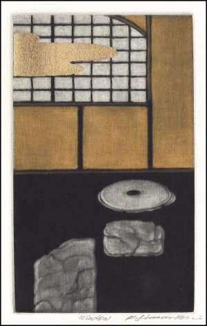 Katsunori Hamanishi - Window, Exlibris