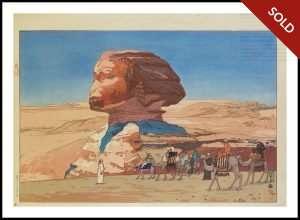 Hiroshi Yoshida - Sphinx (1925)