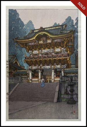 Hiroshi Yoshida - Yomei Gate (1937)