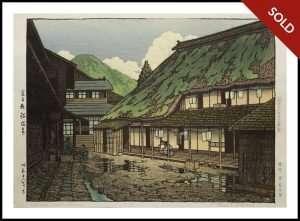 Hasui - Namari Spa, Iwate (1943)