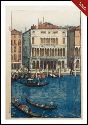 Hiroshi Yoshida - Venice (1925)