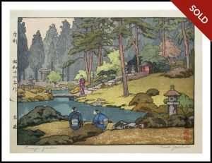 Toshi Yoshida - Linnoji Garden (1941)