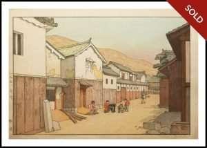 Toshi Yoshida - Village in Harima (1951)